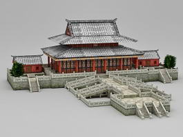 Hall of Supreme Harmony 3d model