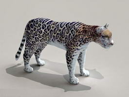Rainforest Animal Jaguar 3d model