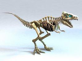Bone Tyrannosaurus Rex 3d model