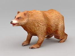 Alaskan Brown Bear 3d model