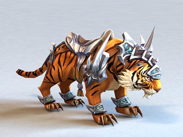 Tiger Mount 3d model
