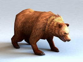 Kodiak Bear 3d model