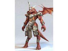 Dragon legionary 3d model