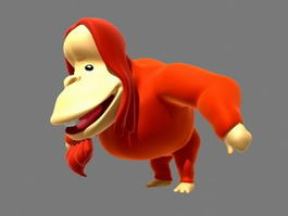 Orangutan Cartoon Rigged 3d model