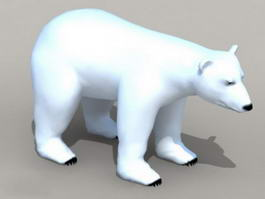 Arctic Polar Bear 3d model