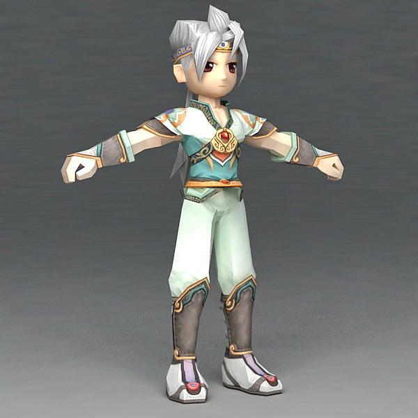 Martial Arts Anime Guy