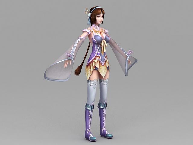 Chinese Anime Girl