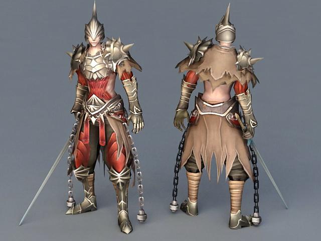 Ancient Warrior with Sword