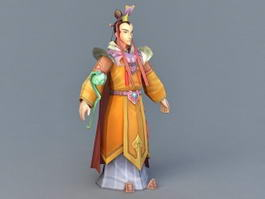Ancient Chinese Imperial Prince 3d model
