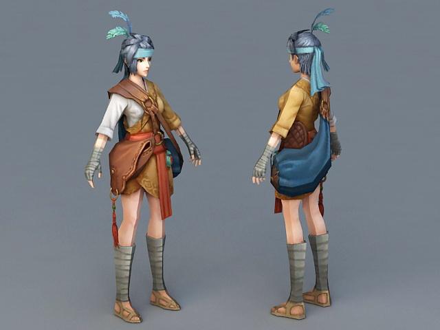 Asian Fantasy Girl