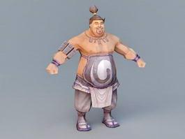 Strong Butcher 3d model