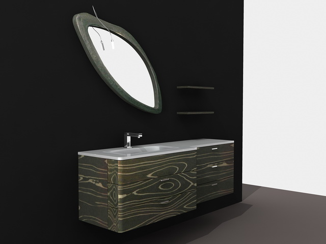 Modern Bathroom Vanity Ideas 3d model
