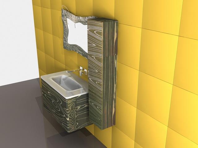 Unique Bathroom Vanities 3d Model 3ds Max Autocad Files Free Download Modeling 38626 On Cadnav
