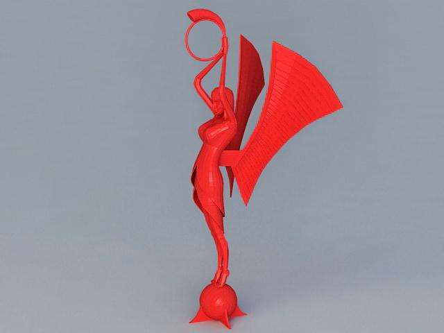 Abstract Woman Figurine