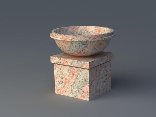 Granite Flower Pot