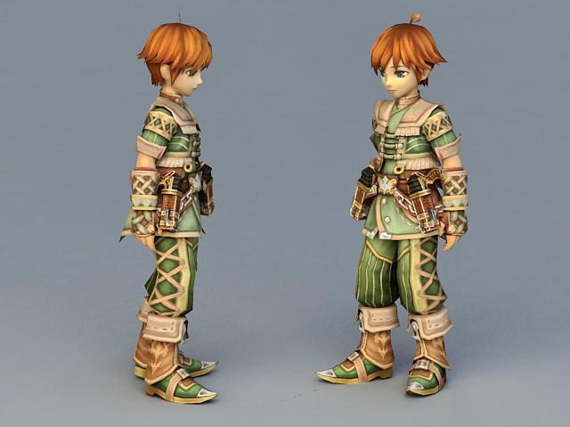 Anime Mercenary Boy