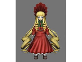 Rozen Maiden Shinku 3d model
