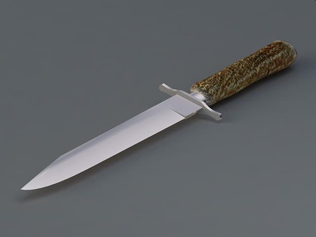 Adventurer Knife 3d model