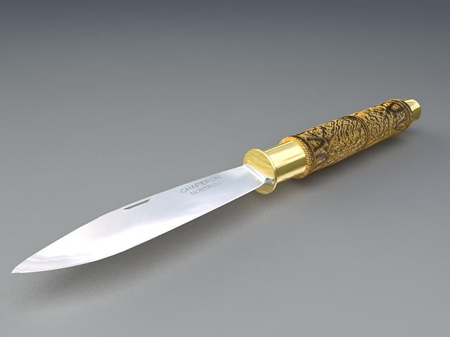 Paper Knife 3d model