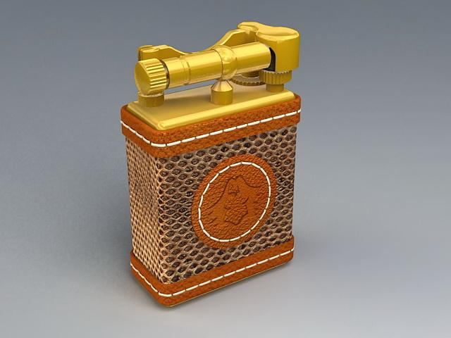 Vintage Cigarette Lighter 3d model
