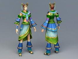 Spring Fairy 3d model