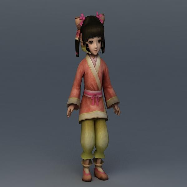 Medieval Peasant Girl