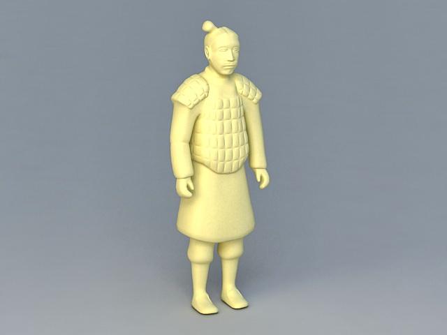Qin Dynasty Terracotta Warrior