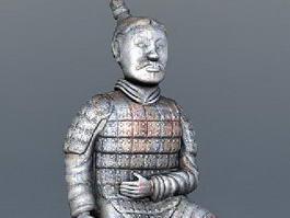 Terracotta Warrior Art 3d model