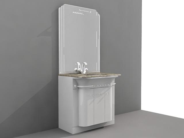 Small Bathroom Vanity with Storage