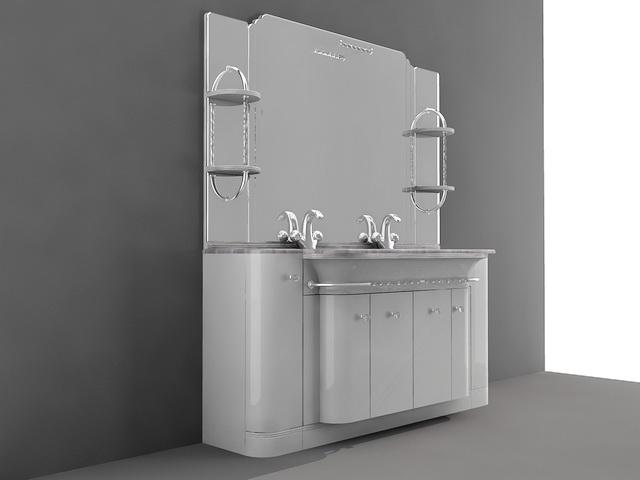 Bathroom Double Sink Vanity Combo