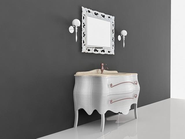 French Antique Bathroom Vanities