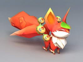 Anime Squirrel 3d model