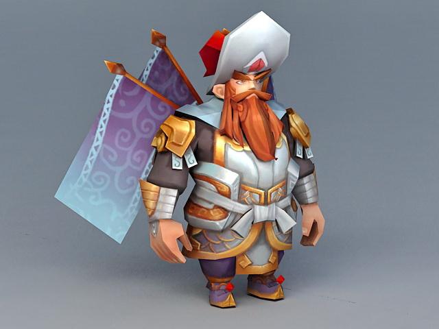 Anime Dwarf Gladiator