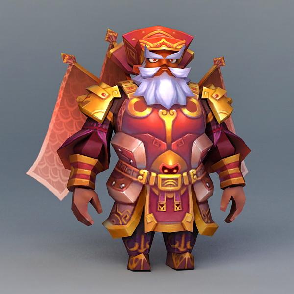 Dwarf Gladiator Red