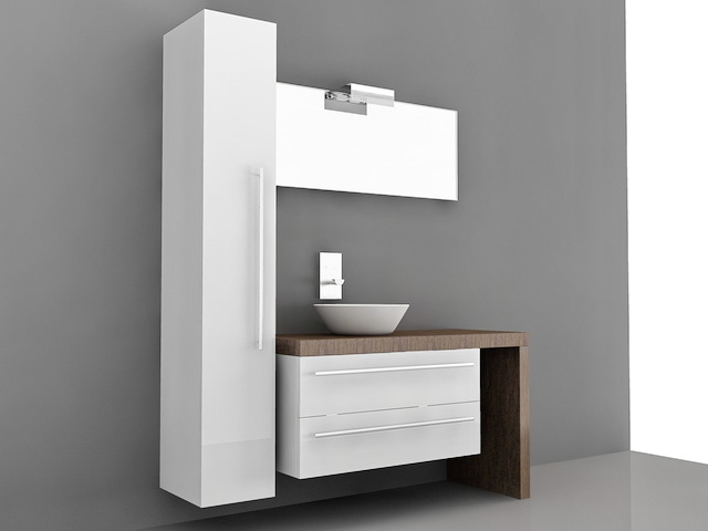 Modern Bathroom Vanity Set