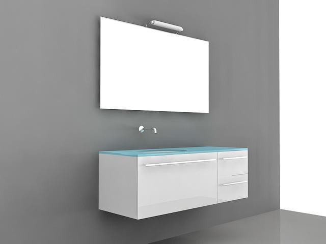 Chic Modern Bathroom Vanities 3d model