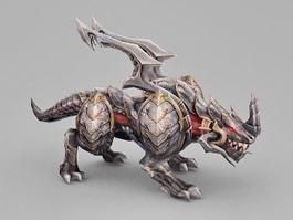 Alien Animal 3d model