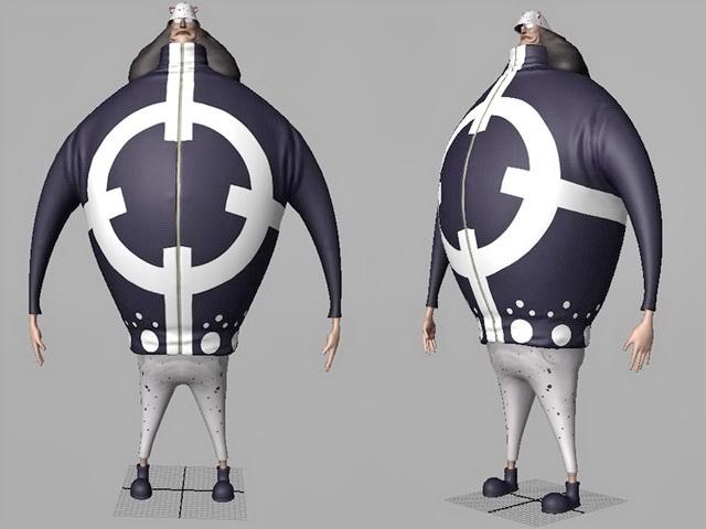 One Piece Bartholomew Kuma 3d model