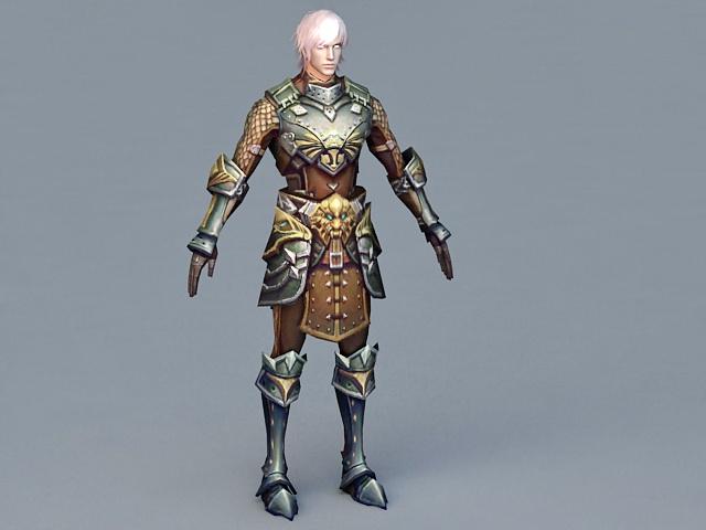 Medieval Kings Guard 3d model