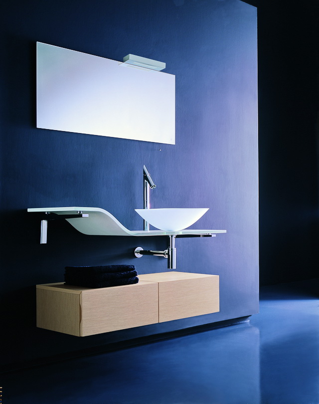 Modern Art Deco Bathroom Vanity 3d model