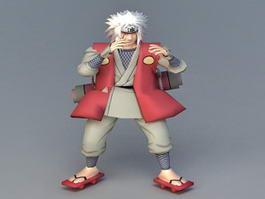 Male Ninja Apprentice 3d model