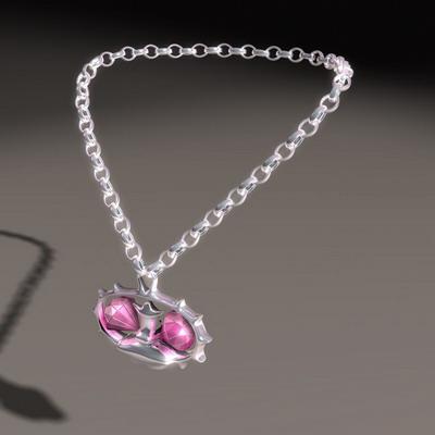 Magic Amulet Necklace 3d model