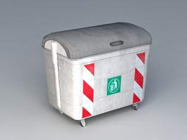 Garbage Dumpsters Container 3d model