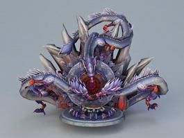 Dragon Altar 3d model