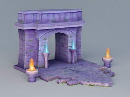 Gate of Hell 3d model