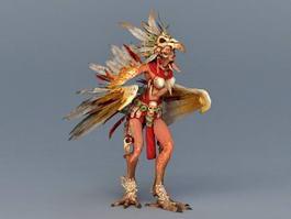 Harpy Hero 3d model