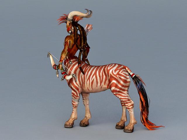 Pathfinder Female Centaur 3d Model 3ds Max Files Free