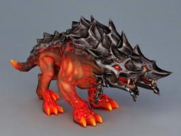 Lava Hellhound 3d model