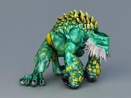 Monster Giant Tortoise 3d model