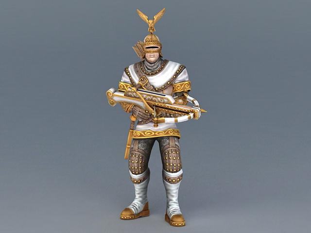 Medieval Archer Armor 3d model